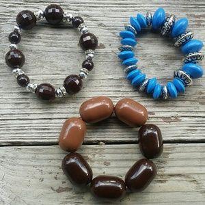 Jewelry - Lot of 3 variety bracelets NWOT